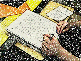 expressive writing to help with break up or separation